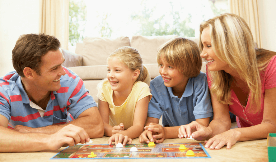 Family Games Just For Fun Time
